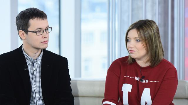 Michał Fedorowicz i Justyna Mazur